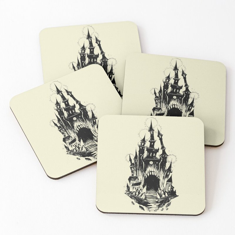 Tarot Tower Coasters