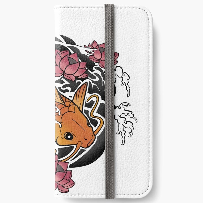 Waves of Luck Phone Wallet